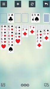 screenshot of Solitaire version 3.9.0034.dsolitaireus