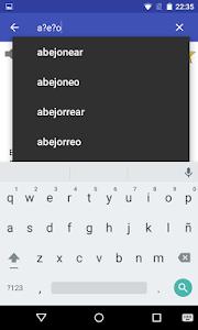 screenshot of Spanish Dictionary - Offline version 4.1