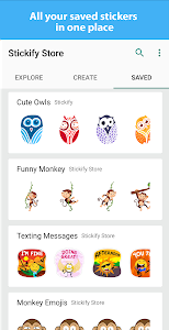 screenshot of Stickify: Stickers for WhatsApp - WAStickerApps version 2.7.5