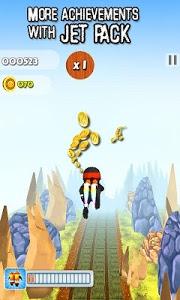 screenshot of Subway Run Ninja Rush version 3.2.1