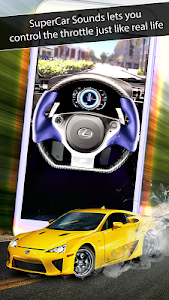 screenshot of SuperCar Sounds version 1.1