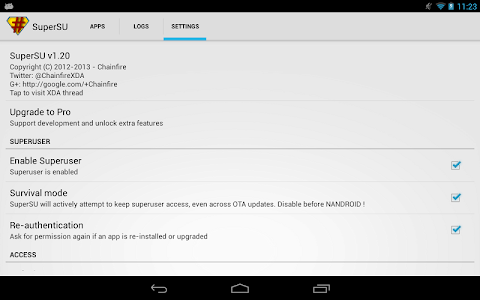 Download SuperSU 2.82 APK