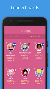screenshot of TRIVIA 360 version 1.6.6