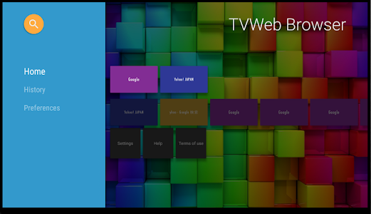Download TVWeb Browser for TV 1.3.1 APK