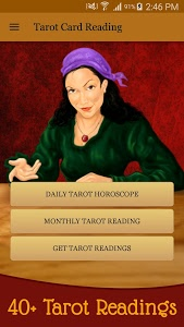 screenshot of Tarot Card Reading & Horoscope version 5.0
