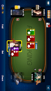 screenshot of Texas Holdem Poker version 4.7.3