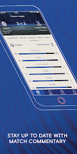 screenshot of Chelsea FC - The 5th Stand Mobile App version 1.9.2