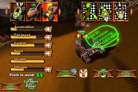 screenshot of Tiki Kart 3D version 7.3