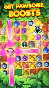 screenshot of Tropicats: Free Match 3 on a Cats Tropical Island version 1.20.130