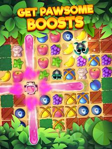 screenshot of Tropicats: Free Match 3 on a Cats Tropical Island version 1.22.134