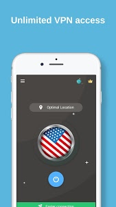 screenshot of USA VPN - Free VPN Proxy & Wi-Fi Security version 1.9t