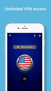 screenshot of USA VPN - Free VPN Proxy & Wi-Fi Security version 2.0t