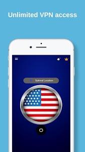 screenshot of USA VPN - Free VPN Proxy & Wi-Fi Security version 2.7t