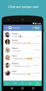 screenshot of VipChat version 2.2.25