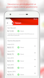screenshot of Vodafone Yanımda version 2.4