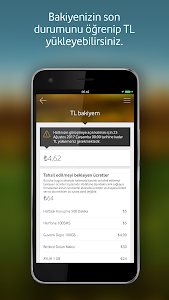 screenshot of Vodafone Yanımda version 5.4.2