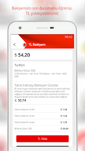 screenshot of Vodafone Yanımda version 3.0.1