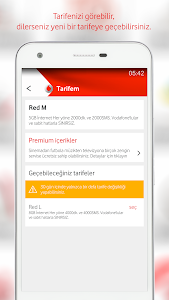 screenshot of Vodafone Yanımda version 2.3