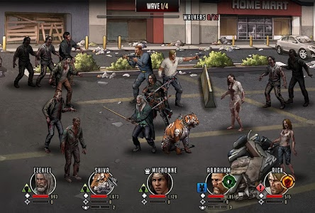 screenshot of The Walking Dead: Road to Survival version 14.0.3.67106