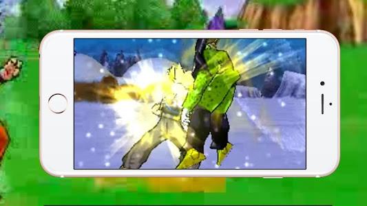 screenshot of Warriors: Super Goku Saiyan version 1.0.1