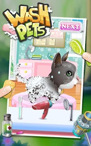 screenshot of Wash Pets - kids games version 2.1.14