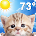 Download Weather Kitty - Forecast, Radar & Cat Pictures 4.5 APK