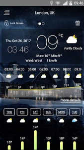 screenshot of Weather forecast version 53.53.23.32
