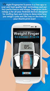 Download Weight Finger Scanner Prank 16.6.9 APK