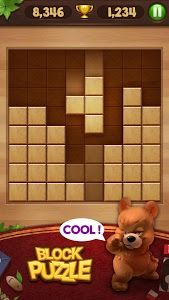 screenshot of Wood Block Puzzle version 21.0