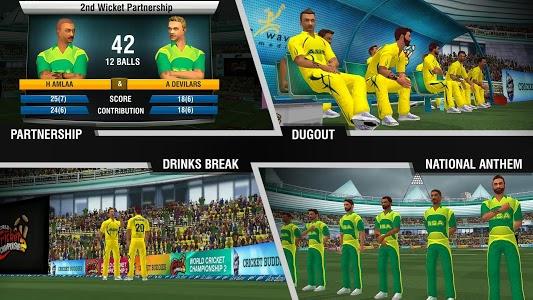 screenshot of World Cricket Championship 2 version 2.8.3.1