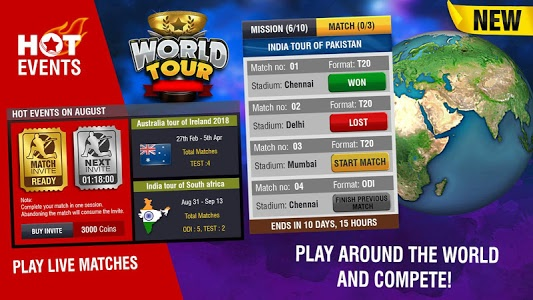 Download World Cricket Championship 2 2.8.2.1 APK