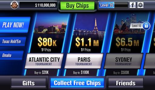 screenshot of World Series of Poker – WSOP version 2.6.5
