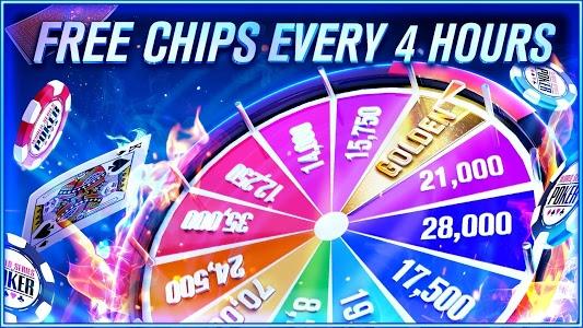 screenshot of World Series of Poker – WSOP Free Texas Holdem version 5.14.1