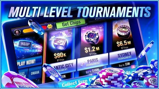 screenshot of World Series of Poker – WSOP Free Texas Holdem version 5.6.0