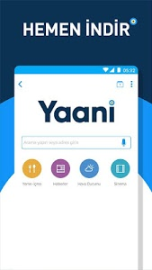 screenshot of Yaani : Turkey's Search Engine & Browser version 4.2.0.186