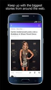 screenshot of Yahoo:Newsroom for Communities version Varies with device