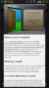 Download Your Freedom VPN Client 20180919-01 APK