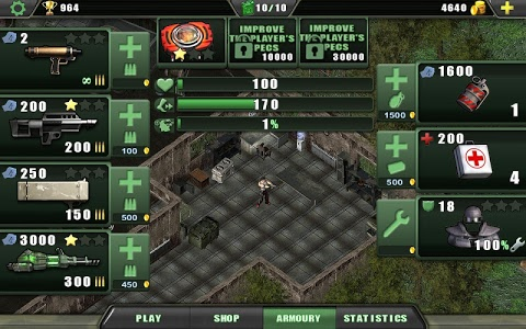 screenshot of Zombie Shooter version 1.3.6