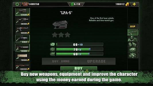 screenshot of Zombie Shooter version 2.4.9