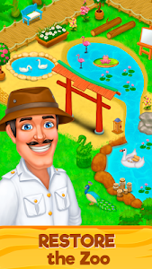 screenshot of Zoo Rescue: Match 3 & Animals version 2.26.390a