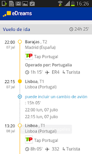 screenshot of eDreams-Cheap Flights & Hotels version 1.0.3