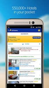 screenshot of eDreams-Flights, Hotels & Cars version 4.68.0