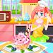 Download fashion game making cake, dress up game 1.0 APK