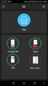 screenshot of gDMSS Lite version 3.49.003