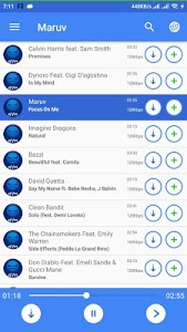 screenshot of zk.fm Player version 2.4
